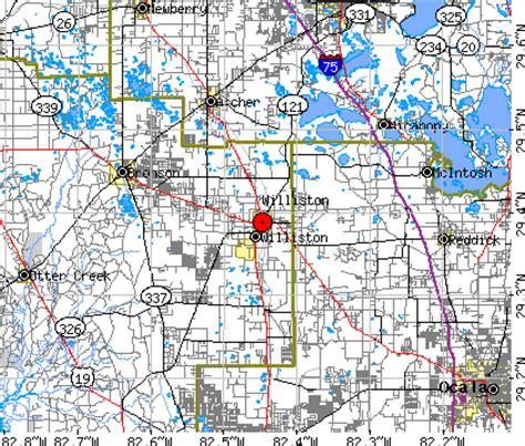 williston florida map williston