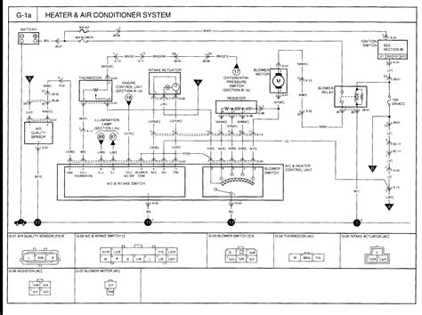 2005 kia sportage air conditioning wiring diagram wiring