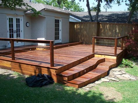 backyard decking ideas and tips for custom front yard and backyard decks