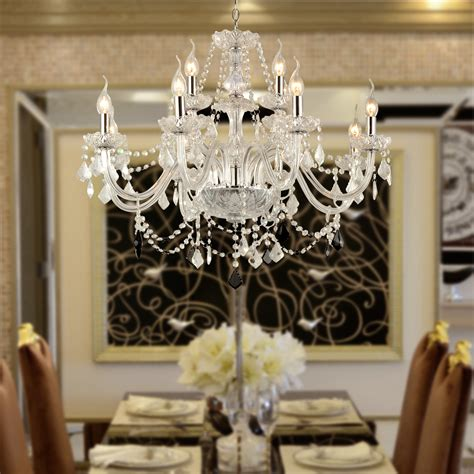 crystal dining room chandeliers 12 light venetian murano style crystal chandelier kitchen