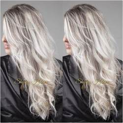 putting silver on brown hair 40 beautiful blonde balayage looks
