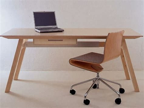 tavoli scrivania tavolo scrivania in multistrato universal by