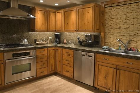 Golden Kitchen by Pictures Of Kitchens Traditional Medium Wood Cabinets