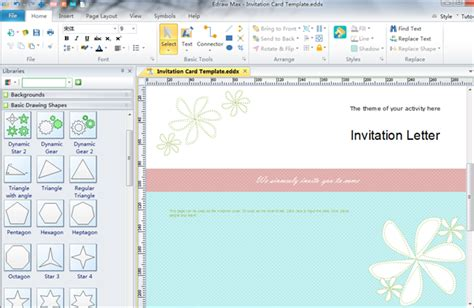 invitation graphic design software invitation card software