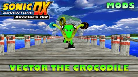 vector mod game download sonic adventure dx mods vector the crocodile youtube
