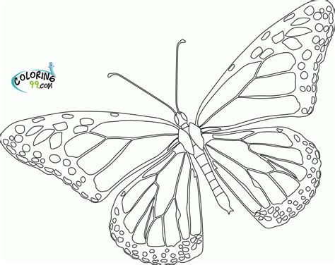 Monarch Coloring Page Kids Coloring Monarch Coloring Page