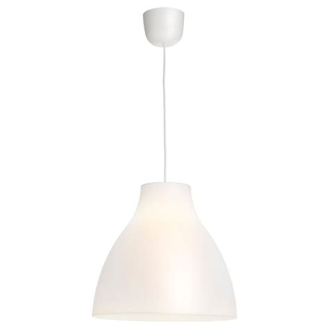 Pendant Light White Melodi Pendant L White 38 Cm Ikea