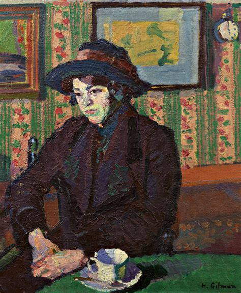 art gallery james harold galleries harold gilman mrs mounter at the breakfast table