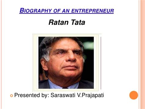 ratan tata biography book name entrepreneur ratan tata