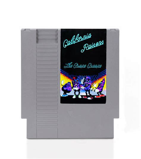 California Raisins Nintendo Nes Game Ebay