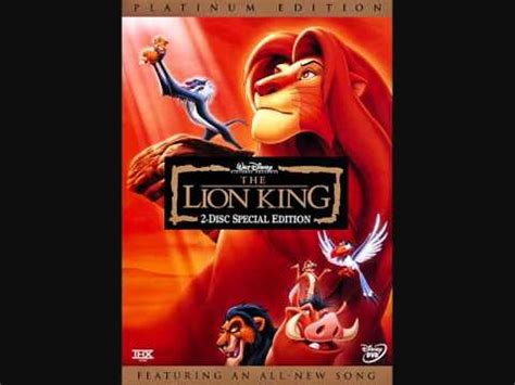 film lion king youtube end credits music from the movie quot the lion king quot youtube