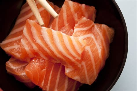 best sashimi fish sashimi fish strips up free stock image