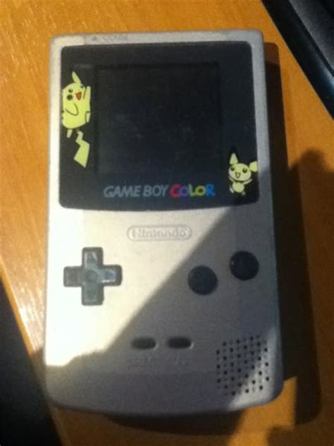 gameboy color pikachu edition pichu and pikachu edition gameboy colour