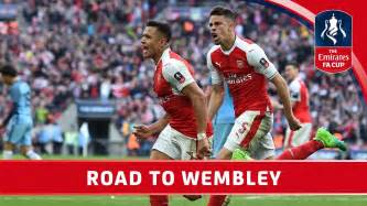 Patch The Emirates Fa Cup 2017 arsenal s road to wembley 2017 emirates fa cup