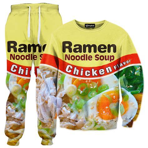 chicken ramen tracksuit all over print apparel getonfleek