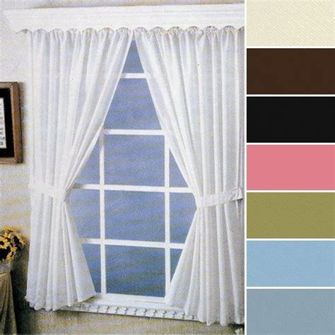 blue bathroom window curtains carnation home fashions fabric bathroom window curtain 36