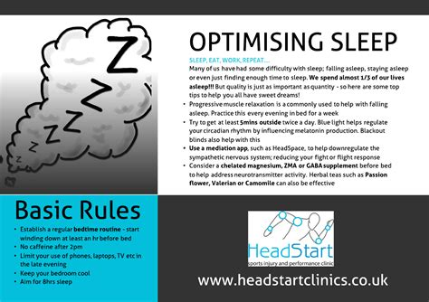Pdf Sweet Sleep Nighttime Strategies by Optimising Sleep Sports Cambridge At
