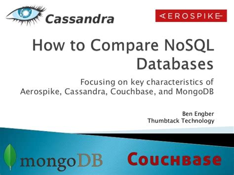 couch nosql how to compare nosql databases aerospike cassandra