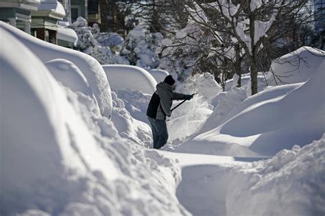 worst blizzards photos east coast digs out from massive blizzard al