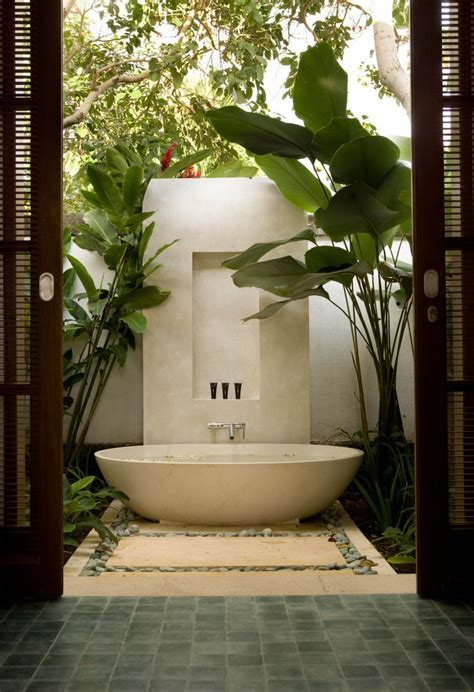luxury outdoor bathrooms 265 best balinese bathroom ideas images on pinterest