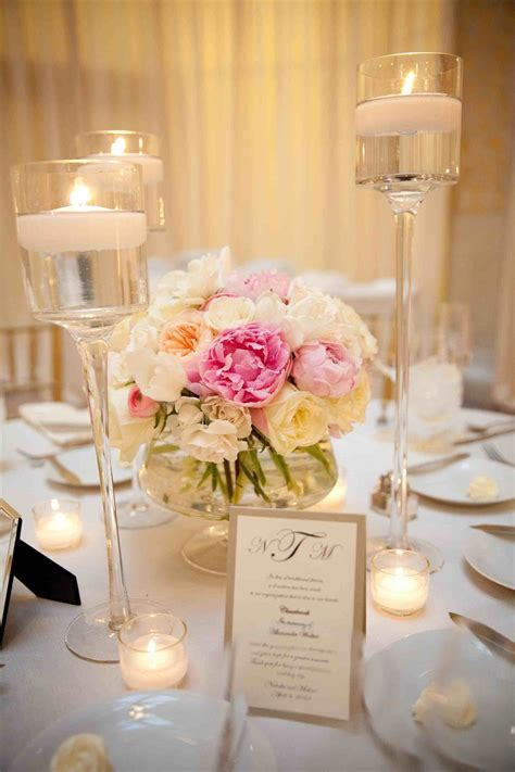 style pink centerpieces commandments of popsugar home