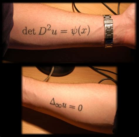 quadratic formula tattoo math techniques and strategies november 2011