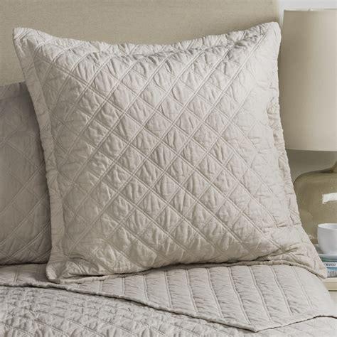 Blue Quilted Pillow Shams by Fleur De Lis Blue Quilted Pillow Sham Save 53