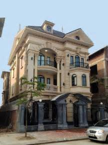 Tuscan Style Floor Plans Vietnam Luxury Classical Townhouse Condominium