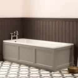 1800 L Shaped Shower Bath hampton 1700mm front bath panel mocha roper rhodes