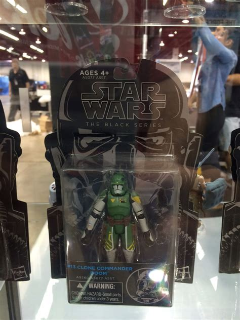 Wars Clone Commander Doom Black Series wars black series to undergo packaging change the