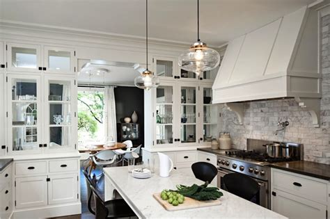 awesome varnished wood flooring in white kitchen themed extraordinary white kitchens decosee com