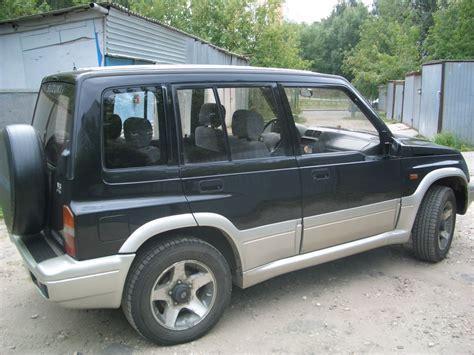 Suzuki Vitara 1995 1995 Suzuki Vitara Pictures 2000cc Gasoline Automatic