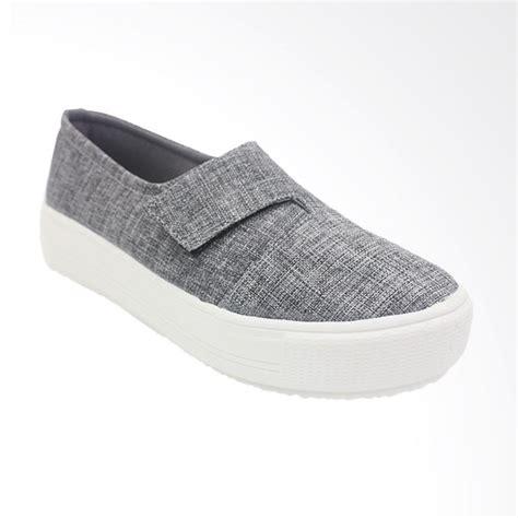 Dr Kevin Slip On Shoes 13320 Grey jual dr kevin 43220 slip on sepatu wanita grey