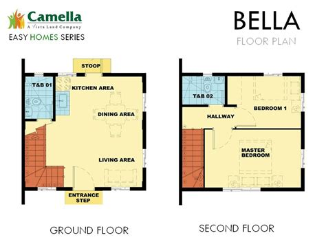 camella homes design with floor plan camella homes camella alta silang bella house and