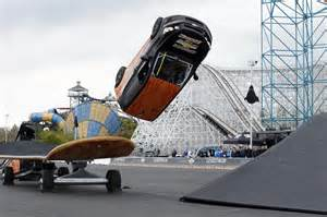 Wheels Truck Flip Skateboarder Rob Dyrdek Kickflips A Chevrolet Sonic Like A