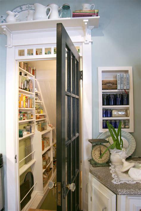 shelf   door  pantry   stairs