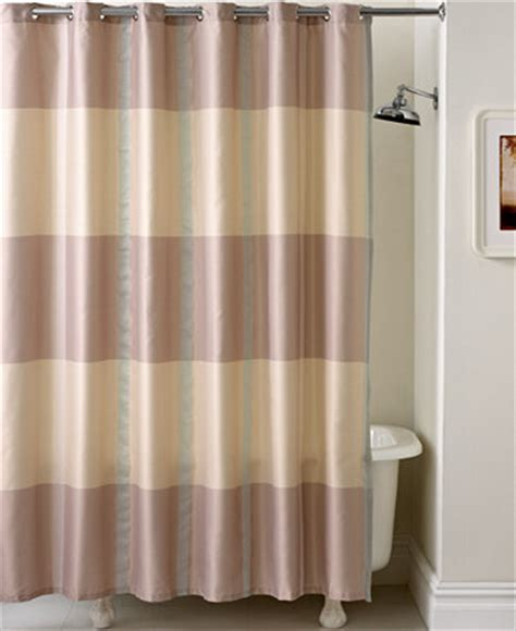 Martha Stewart Shower Curtains by Martha Stewart Collection Encore Stripe Shower Curtain