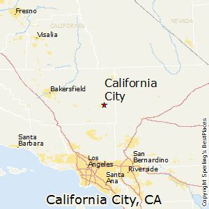 california city ca map best places to live in california city california