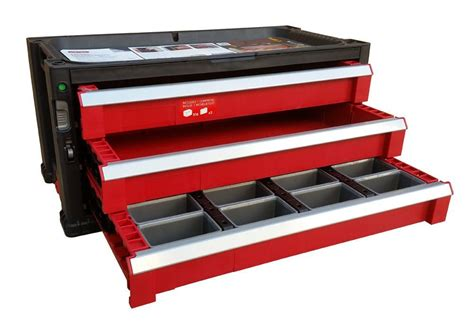 Tool Chest Drawer Dividers by 5 Drawer Tool Chest System Tool Organizer Box Toolbox