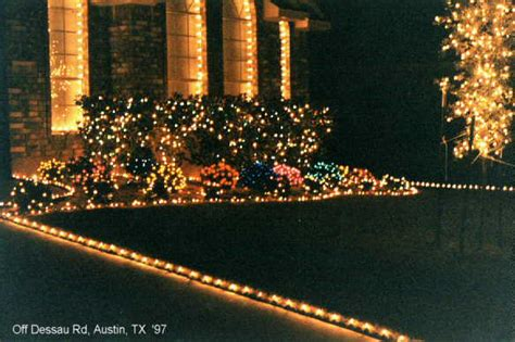 maddog n miracles christmas lights in dessau pflugerville