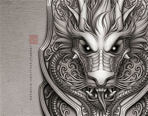 half sleeve dragon tattoo on behance