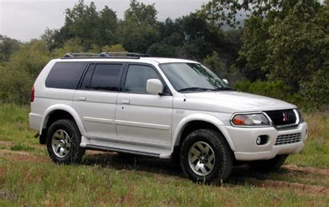 2000 Mitsubishi Montero Sport Information And Photos