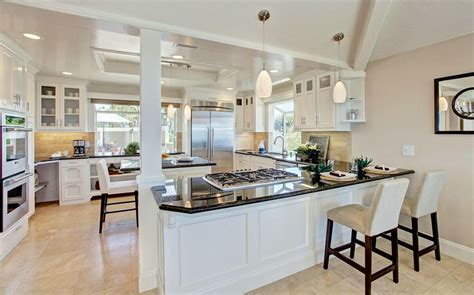 white kitchen cabinets with black granite black granite countertops colors styles designing idea