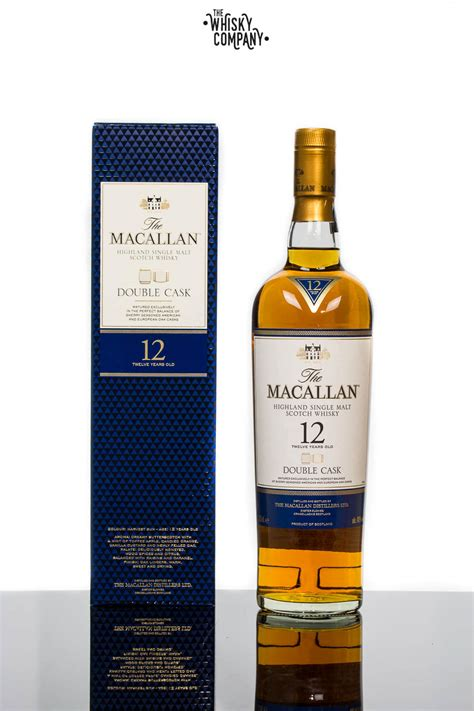 The Macallan Double Cask 12 Years Old Single Malt Scotch