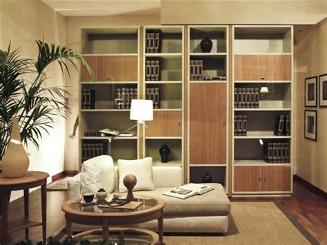 librerie salotto libreria componibile in legno per salotto idfdesign