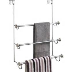 door towel bar interdesign the door towel rack in the door