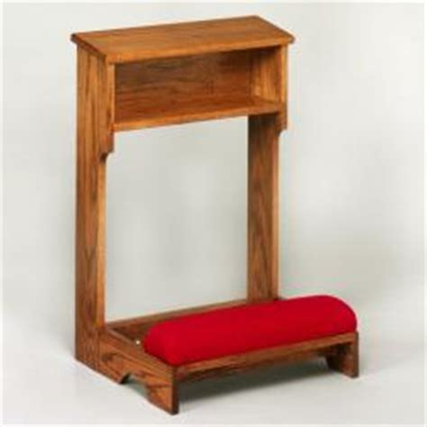 prayer bench for sale church sanctuary prie dieu kneeler st andrew s book