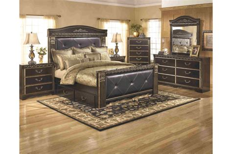 coal creek bedroom set king coal images