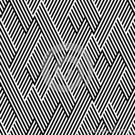 pattern line black white pattern in zigzag with line black and white stock photo