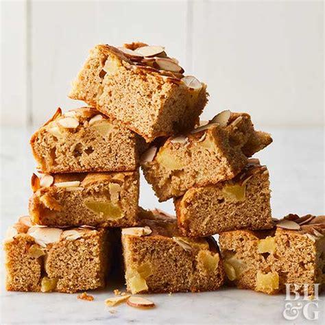 apple maple snack cake  homes gardens